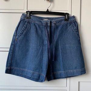 J. Jill denim shorts